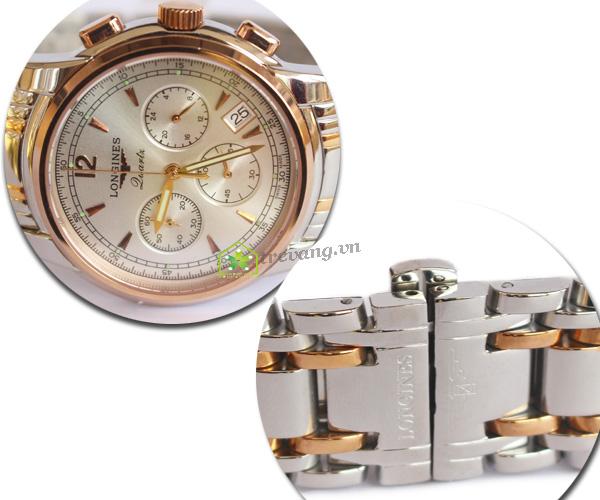 Đồng hồ Longines LG-06 mạ vàng sang trọng