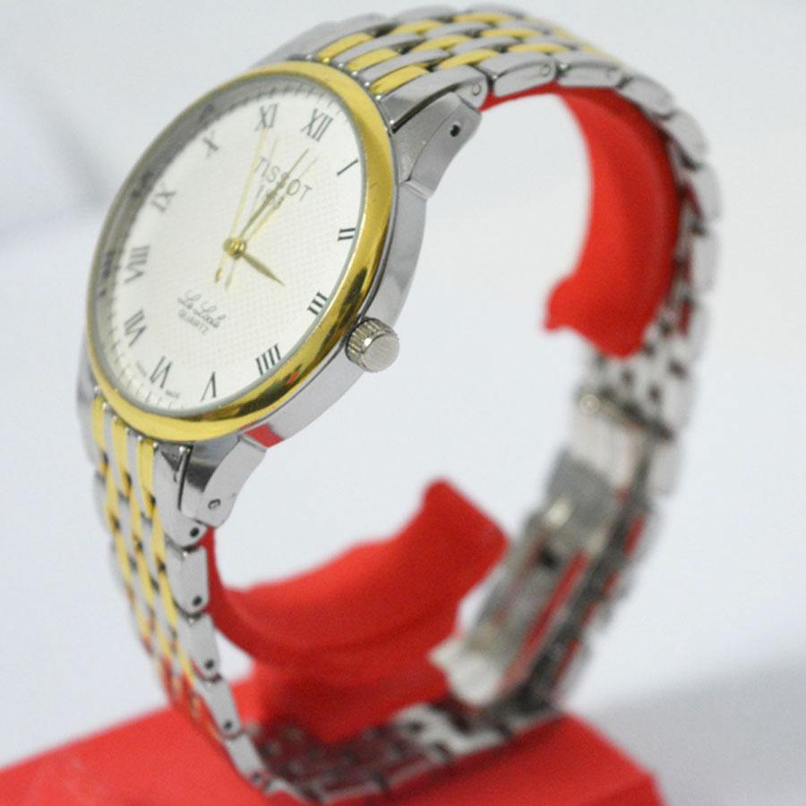 Đồng hồ Tissot nam T41.1 Le Locle mạ vàng