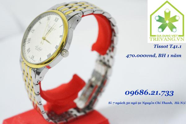 Đồng hồ Tissot nam T41.1 Le Locle trắng sang trọng