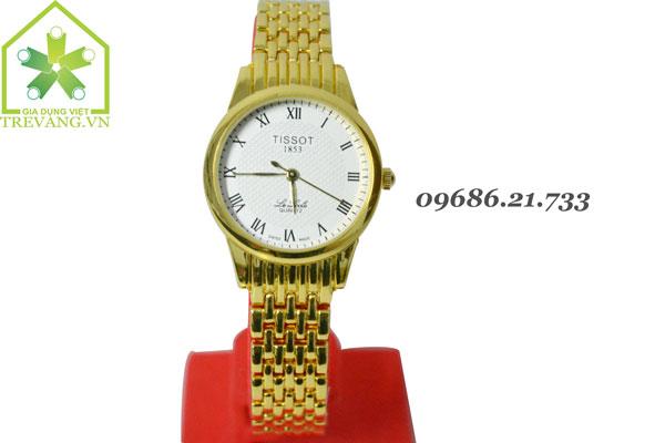 Đồng hồ Tissot nữ T41.6  mặt trắng