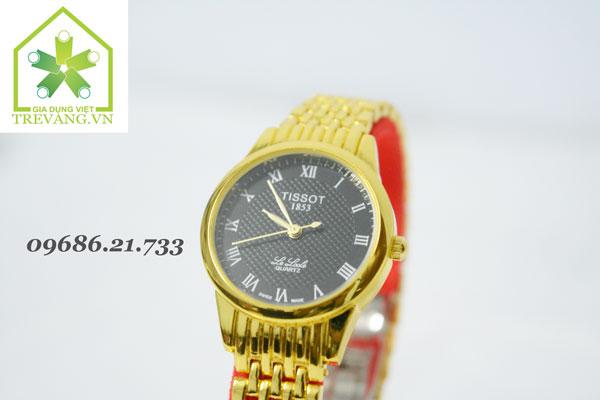 Đồng hồ Tissot nữ T41.7 mạ vàng sang trọng