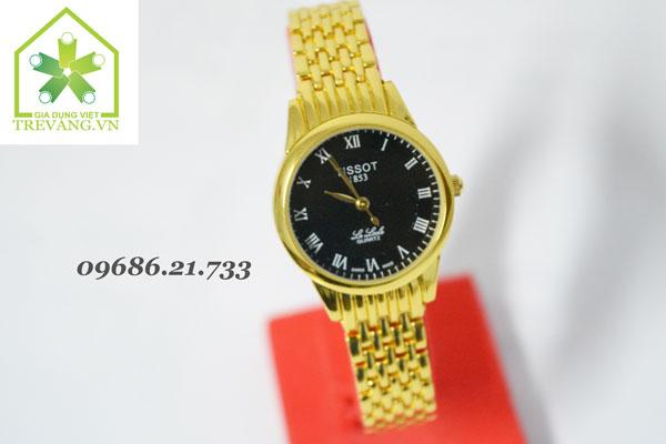 Đồng hồ Tissot nữ T41.7 mặt đen
