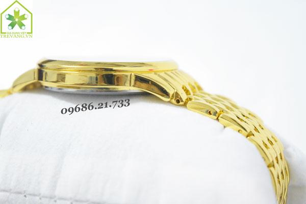 Đồng hồ Tissot nam T41.3 Gold mỏng