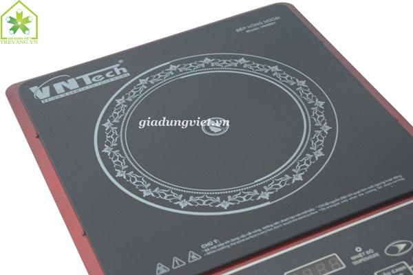 Bếp hồng ngoại VnTech VN6001 3 vòng nhiệt thông minh