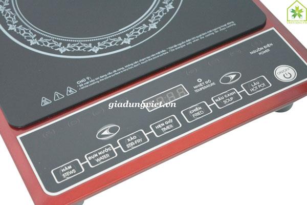 Bếp hồng ngoại VnTech VN6001 phím bấm cơ