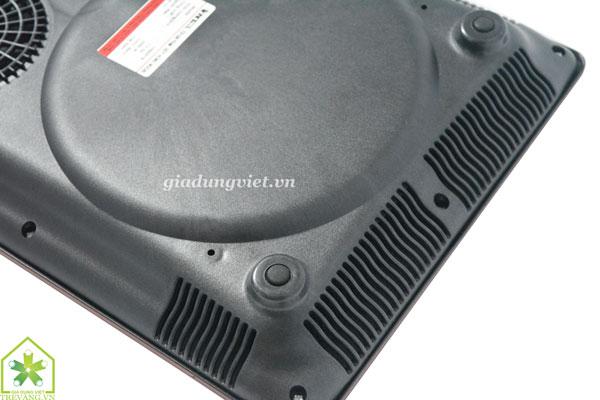 Bếp hồng ngoại VnTech VN6001 quạt thông gió