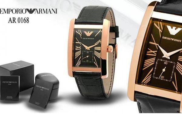 Đồng hồ Armani nam AR0168 mặt đen