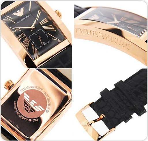 Đồng hồ Armani nam AR0168 sang trọng