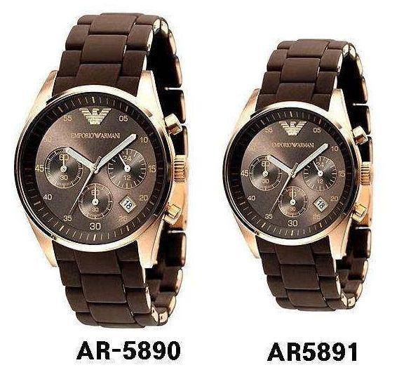 Đồng hồ Armani nữ AR5891 và AR5890 nam