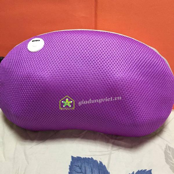 Gối massage hồng ngoại Okira OK-168 lưới mềm mịn