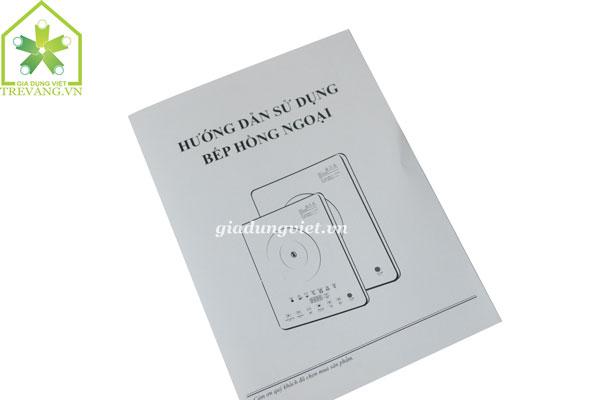 Bếp điện hồng ngoại VNTech VN6012 sách hướng dẫn