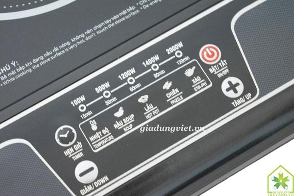 Bếp điện hồng ngoại VNTech VN6012 điều chỉnh nhiệt