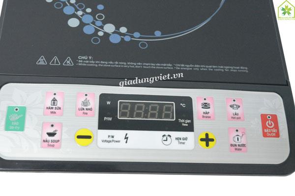 Bếp điện từ VNTech VN6152 điều chỉnh nhiệt