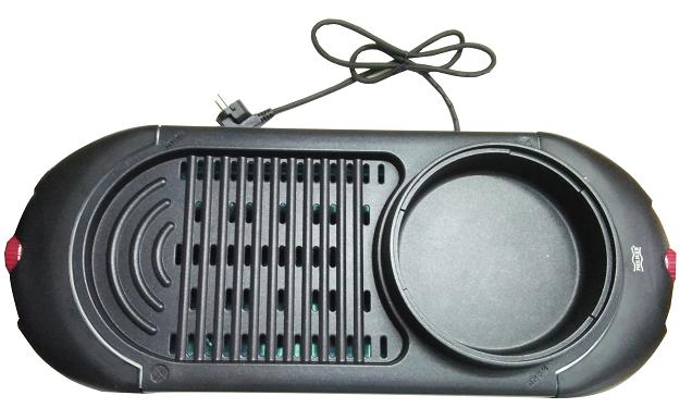 Bếp nướng điện không khói Philiger PLG-6066 tiện dụng lẩu nướng
