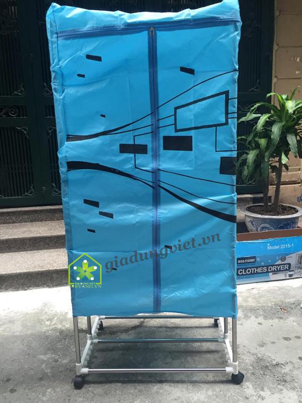Tủ sấy quần áo Shachu SH168 khung gập