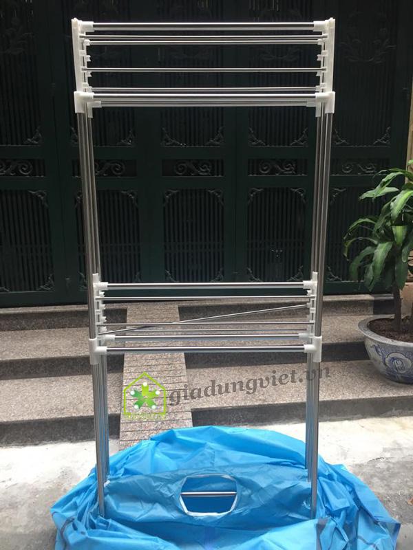 Tủ sấy quần áo Shachu SH168 khung inox
