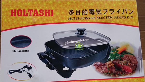 Chảo điện đa năng Holtashi TC-2016 Nhật Bản