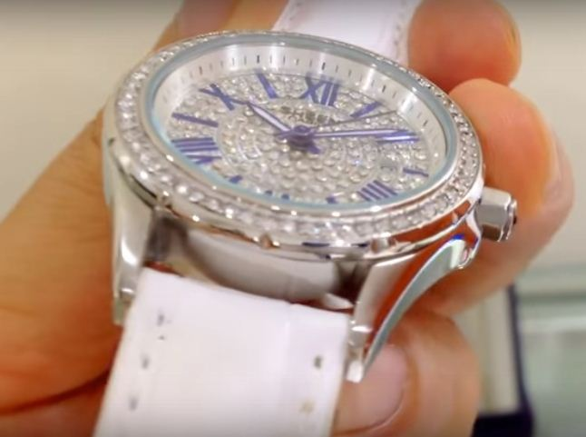 Đồng hồ Casio nữ SHE-4510L-7A đính đá