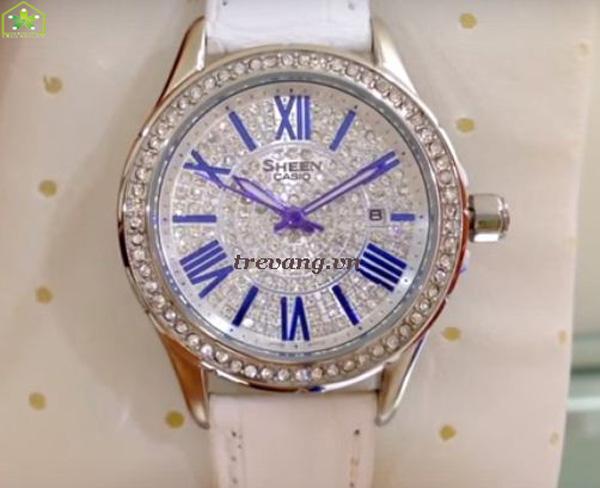 Đồng hồ Casio nữ SHE-4510L-7A mặt số