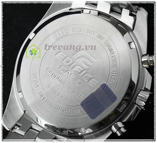 Đồng hồ Casio nam Edifice EFB-301D-7A mặt sau