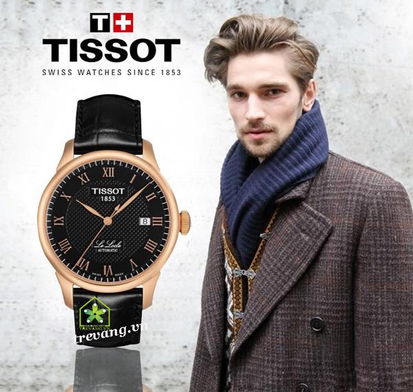 Đồng hồ Tissot nam T41.5.423.53 sang trọng