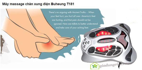 Máy massage chân Shachu SH-199 bấm huyệt chuyên sâu