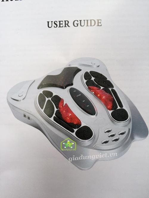 Máy massage chân Shachu SH-199 có điều khiển từ xa