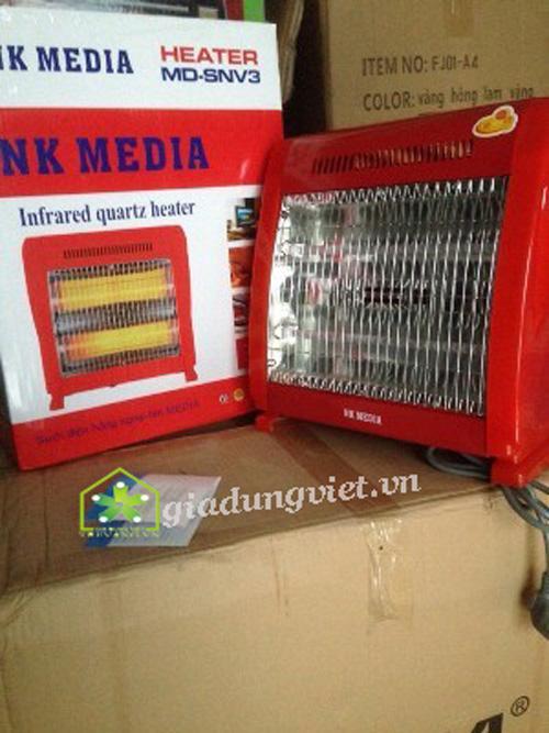 Quạt sưởi NK Media MD-SNV3 cho mùa đông ấm áp