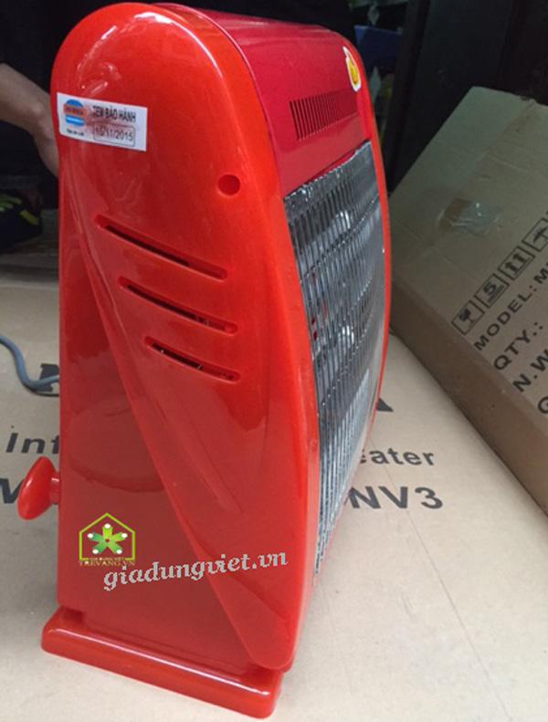 Quạt sưởi NK Media MD-SNV3 nhựa ABS cứng
