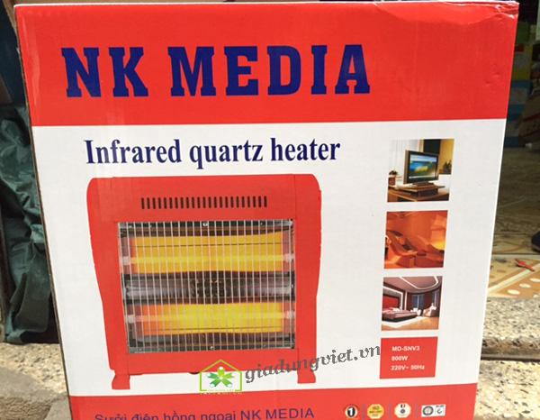 Quạt sưởi NK Media MD-SNV3 sưởi ấm nhanh
