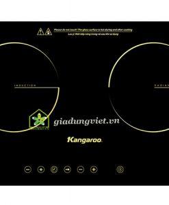 Bếp điện đôi Kangaroo KG499i 1 từ 1 hồng ngoại