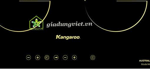 Bếp điện đôi Kangaroo KG499i 1 từ 1 hồng ngoại điều khiển