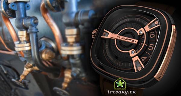 Đồng hồ Sevenfriday M2-2 sang trọng