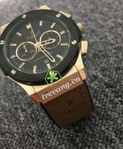 Đồng hồ Hublot HB-G016 nam mặt đen sang trọng