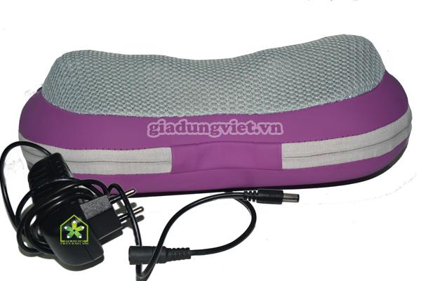 Gối massage hồng ngoại Yokushi YK 168 Pin-sạc