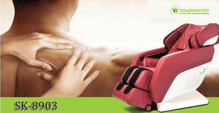 Ghế massage 3D SHIKA SK-8903 cao cấp