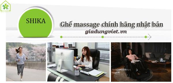 Ghế massage toàn thân Shika 3D SK8901 hiện đại