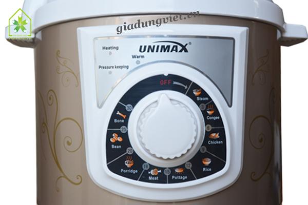 Nồi áp suất Unimax UPC-M62 điều khiển cơ