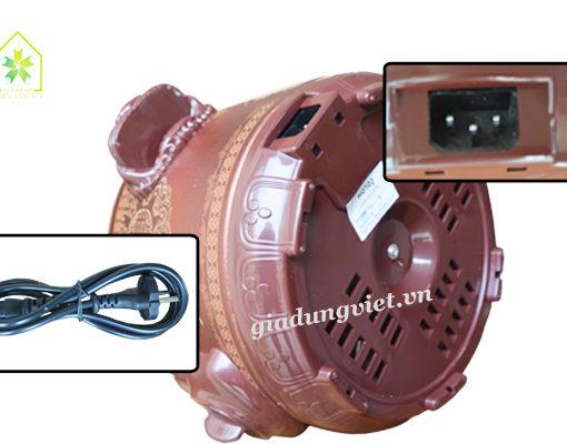 Nồi hầm-Nồi kho cá Hotor HT25PC thiết kế đáy