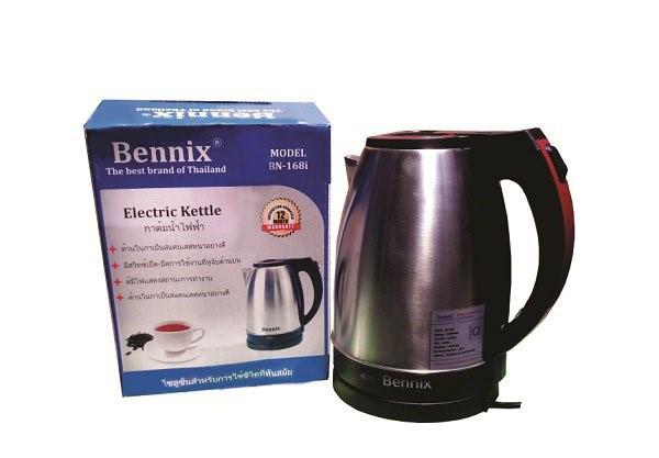 Ấm siêu tốc Bennix BN-168i trọn bộ