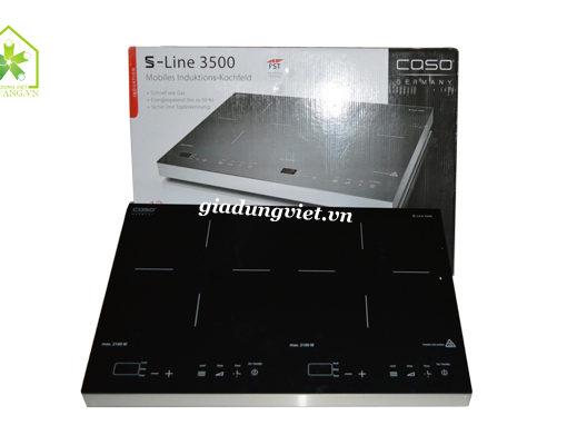 bếp từ đôi Caso S-line 3500-tổng quan