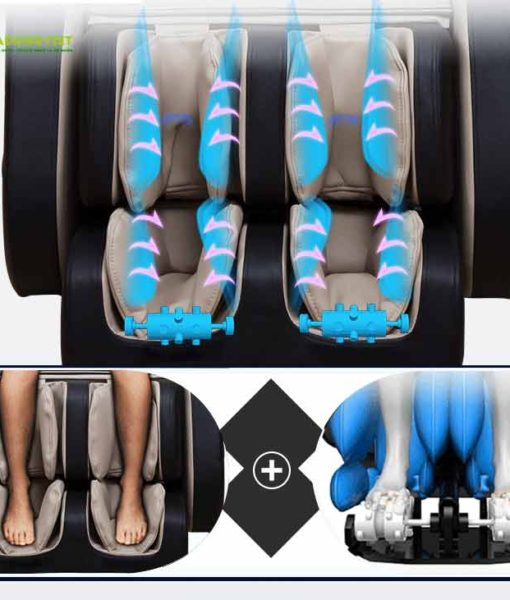 Ghế massage 3D SHIKA SK-8903 massage bắp chân