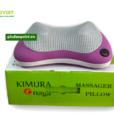 Gối massage hồng ngoại Kimura Nhật Bản