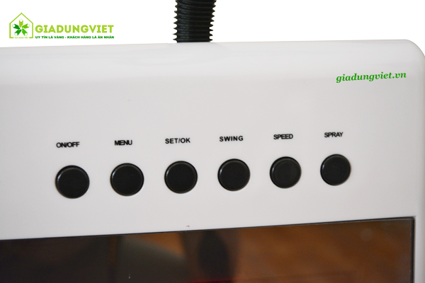 Quạt hơi nước Fairlady DH-F022 phím điều khiển