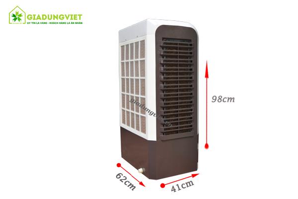 Quạt hơi nước Shoohan SH01 25L kích thước