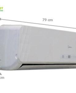 Điều hòa Midea MS11D1-12HR công suất 12.000 BTU kích thước