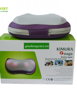 Gối massage hồng ngoại Kimura Onaga KO-03 trọn bộ