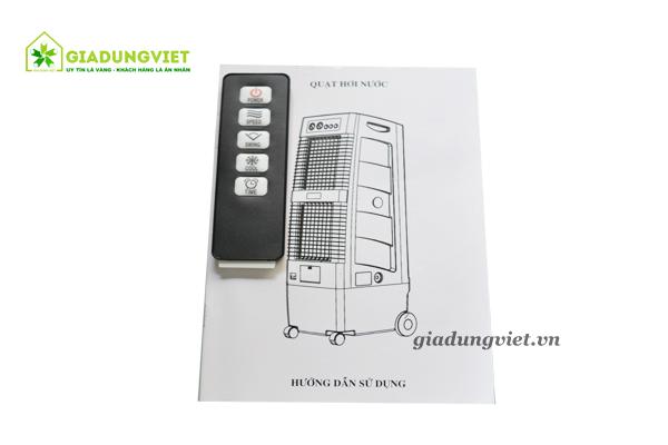 Quạt hơi nước shoohan 2 tần sh02 sách và điều khiển
