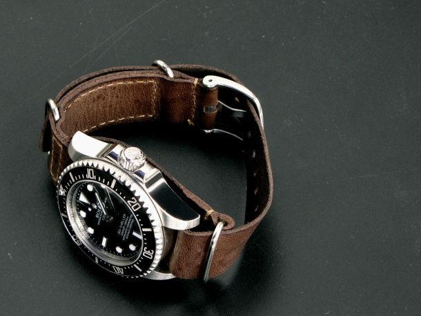 Đồng hồ dây da HandMade