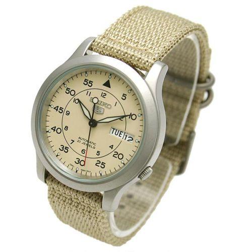 đồng hồ nam đẹp Seiko 5 quân đội SNK803K2